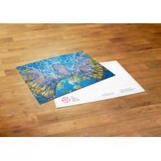 Postcard - Georgia - Lela Sarishvili