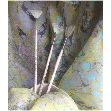 FanArt fan brush with natural bristles - size 5 (set of 12 brushes)