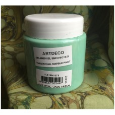 Professional Ebru Paint ArtDeco (220 ml) – Jade Green