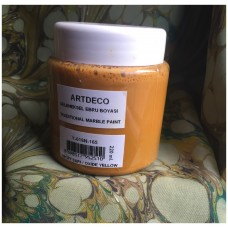 Professional Ebru Paint ArtDeco (220 ml) – Oxide Yellow