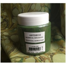 Professional Ebru Paint ArtDeco (220 ml) – Sap Green
