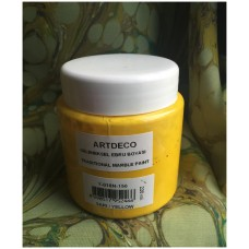 Professional Ebru Paint ArtDeco (220 ml) - Yellow