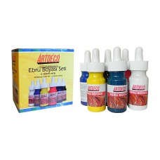 Ebru Artdeco Set - 6 Colors (each 30ml)