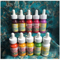 Ebru Artdeco Set - 10 Light Colors (each 30ml)