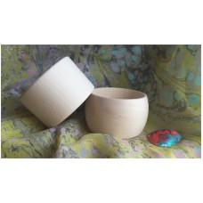 Plain wood straight bracelet – width 40 mm (internal size 67-69 mm)