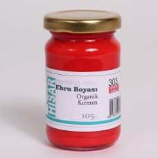 Ebru Pigment Paint Hisar (105 ml) – Organic Red – 303