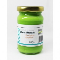 Ebru Pigment Paint Hisar (105 ml) - Pistachio Color – 913