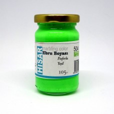 Ebru Pigment Paint Hisar (105 ml) – Neon Green - 504