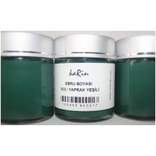Professional Ebru Paint Karin (105 ml) – Green Leaf Color