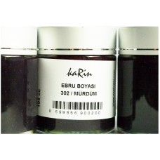 Professional Ebru Paint Karin (105 ml) – Purple Metallic Color