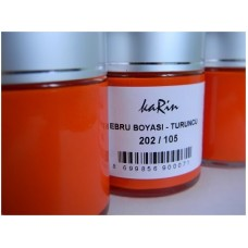Professional Ebru (marbling) Paint Karin (105 ml) - Orange Color