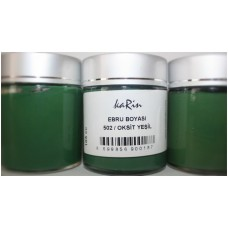 Professional Ebru Paint Karin (105 ml) – Oxide Green Color