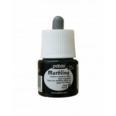 Ready Ebru Paint Pebeo (45ml) - Black Color